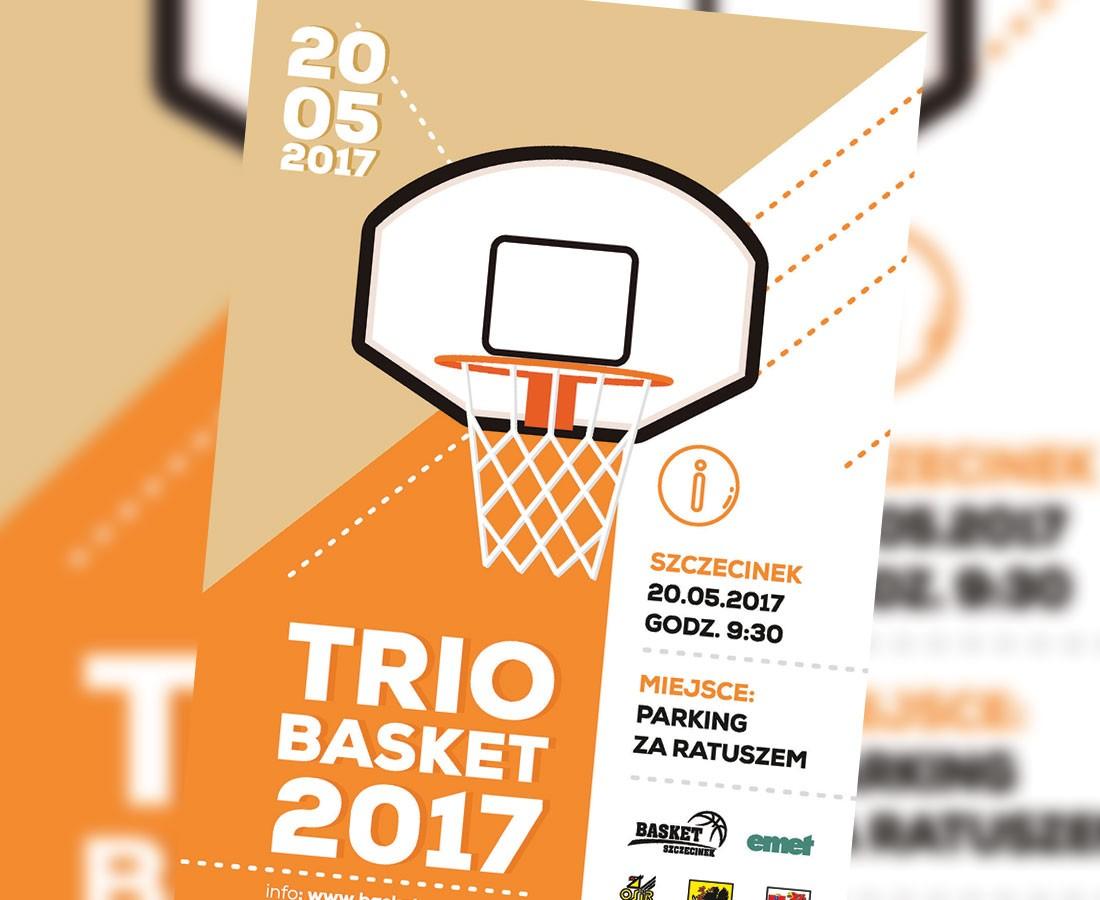 koszykowka, Trójki koszykarskie zagrają ratuszem - zdjęcie, fotografia