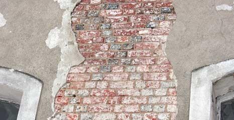 temat.net: archiwum, zamku odkryto oryginalne gotyckie ściany - zdjęcie, fotografia
