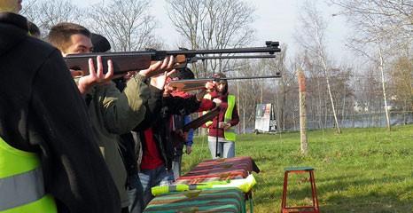 strzelectwo, Strzelanie Zawody okazji Narodowego Święta Niepodległości - zdjęcie, fotografia