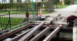 Mostek na Niezdobnej już po remoncie