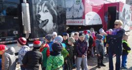 Różowa, psia ciężarówka przyjechała do Szczecinka