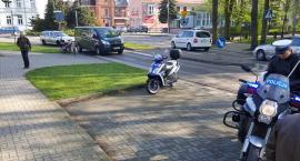 Zderzył się motorower ze skuterem