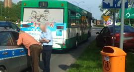 Zderzenie skody z autobusem