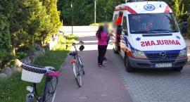 Znów zderzyła się dwójka rowerzystów