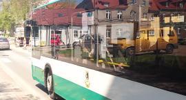 Autobusy miejskie w Szczecinku też stoją w korkach