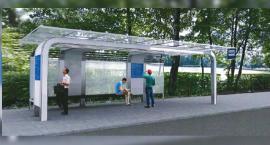 Grają, pokazują i ładują. Nowe przystanki autobusowe w Szczecinku