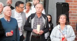 Łańcuch światła przed sądem. Protestowali także w Szczecinku