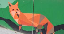 Kolejny mural w Szczecinku prawie gotowy