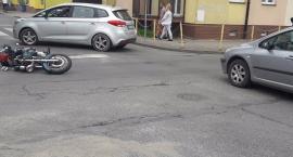 Wypadek na skrzyżowaniu Koszalińskiej i Jeziornej