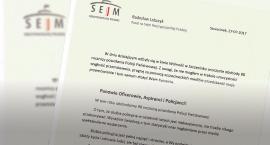 Życzenia posła na Sejm RP, Radosława Lubczyka z okazji obchodów 98 rocznicy powołania Policji