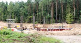 Obwodnica Szczecinka w lesie