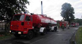 Strażacki tydzień: Gorzelnia w ogniu, fałszywy alarm i kolacja na gazie