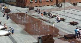 Fontanna w centrum Szczecinka ruszy dopiero na wiosnę. Jeśli zostanie odebrana
