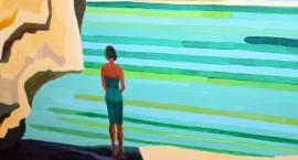 Malowanie i pisanie. Wernisaż wystawy malarstwa Juliki Matuszak
