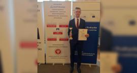 Mateusz Golczyk z tytułem finalisty Ogólnopolskiej Olimpiady Wiedzy o UE