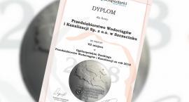 Szczecineckie wodociągi na siódmym miejscu w Ogólnopolskim Rankingu Przedsiębiorstw