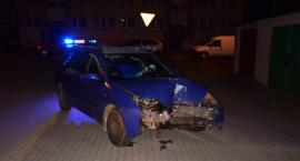 Pijany 17-latek bez prawa jazdy spowodował kolizję w Szczecinku