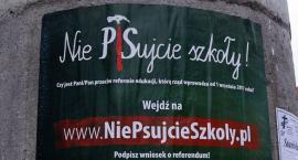 Szykuje się wielki protest nauczycieli. W Szczecinku oplakatują szkoły