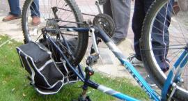Uwaga na złodziei części rowerowych!