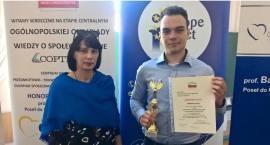 Michał Kotschy drugim podwójnym finalistą olimpiady w I LO