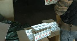 Wielka wpadka w Szczecinku. Policja zarekwirowała 35 tysięcy nielegalnych paczek papierosów