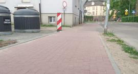To są ścieżki rowerowe, czy chodniki?