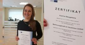 """Pierwsza opiekunka Hausengel otrzymuje niemiecki certyfikat IHK """"Opiekunka w domowym otoczeniu"""""""