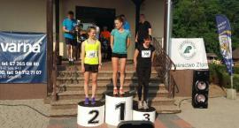 Biegacze ze Szczecinka na podium w Biegu Zawilca