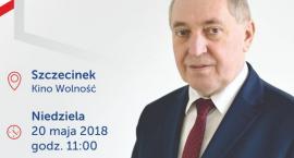 Minister Środowiska, Henryk Kowalczyk w Szczecinku. Zaproszenie