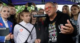 Jerzy Owsiak w Szczecinku.