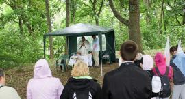 Coroczna msza na Marientronie. Wyruszyła pielgrzymka na Górę Polanowską
