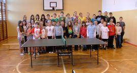 Tenis stołowy: Grali o mistrzostwo szkoły
