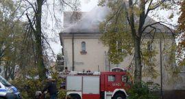 Pożar na ul. Szczecińskiej. Przyczyną - suszarka elektryczna