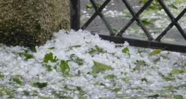 Ostrzeżenie pogodowe dotyczące burz z gradem