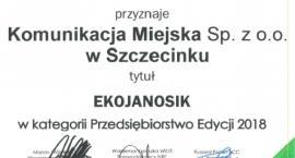 Komunikacja Miejska w Szczecinku z nagrodą Ekojanosika