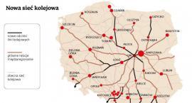 Ze Szczecinka do Centralnego Portu Komunikacyjnego. Jesteśmy na trasie nowej linii kolejowej