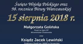 15 sierpnia. Zaproszenie na uroczystości w Szczecinku