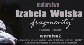 Izabela Wolska i jej prace. Zaproszenie na wystawę