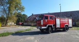 Znów płonęła hala przy Myśliwskiej
