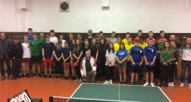 Zagrali Mistrzostwa Powiatu w tenisie stołowym
