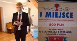 Antoni Borys nagrodzony na Gali Polskiego Triathlonu!