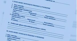 Niebieskie Karty w Szczecinku. Ofiarami przemocy coraz częściej dzieci
