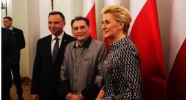 Bogdan Trojanek w Pałacu Prezydenckim