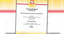 MKP Szczecinek z licencją od Polskiego Związku Lekkiej Atletyki
