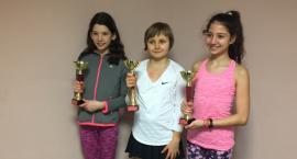 Rozegrali tenisowy Halowy Wojewódzki Turniej Klasyfikacyjny