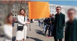 Żarty się skończyły! Uczniowie wspierają strajk nauczycieli