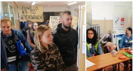 Protest uczniów w Szczecinku. Głos zabiera minister edukacji