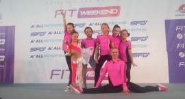 Dziewczyny z Akademii Fitness Sportowego na Mistrzostwach Polski