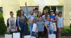 Karolina Pisarek z wizytą w Domu Dziecka w Szczecinku