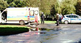 Potrącenie rowerzysty na ul. Koszalińskiej